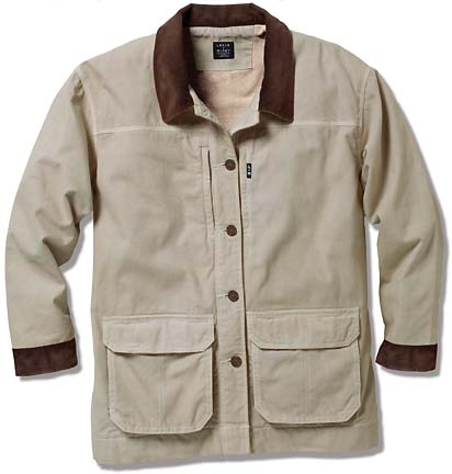 Women s canvas barn coat fleece lined relaxed fit