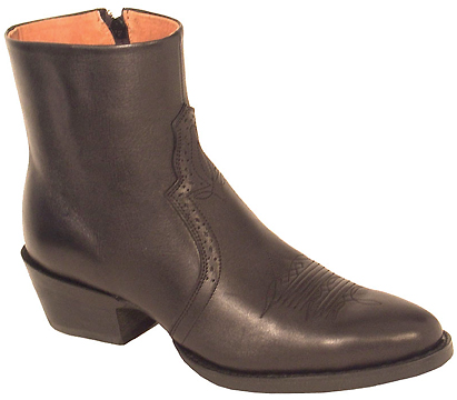 RoadWolf Boots - Mens Side Zipper Boots