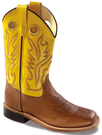 Childs Square Toe Boots