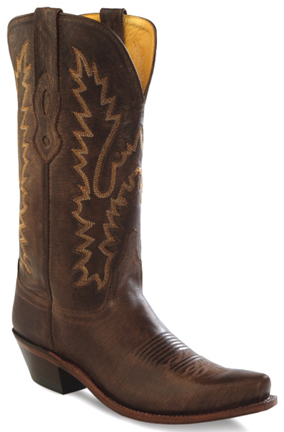 cba4656188d JAMA Old West Womens Square Toe Cowboy Boots