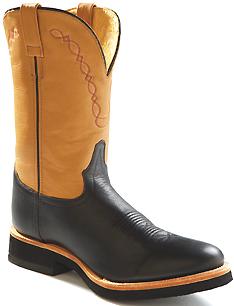Mens Deertan Crepe Sole Western Boots