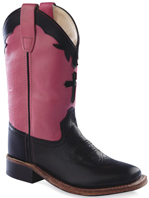 e3b8acf0c65 JAMA Old West Children's Leather Boots
