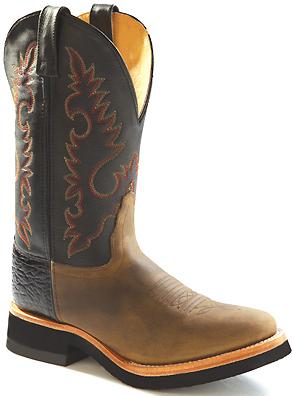Womens Deertan Crepe Sole Western Boots