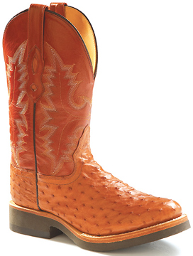 Cultured Cowboy Full Quill Ostrich Boots