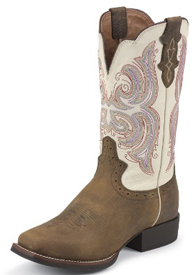 Justin Ladies Western Boots L7200 Distressed Western Boots