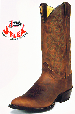 Justin Western Boots 2252 Distressed Western Boots