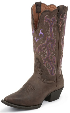 Justin Ladies Western Boots L2561 Distressed Western Boots