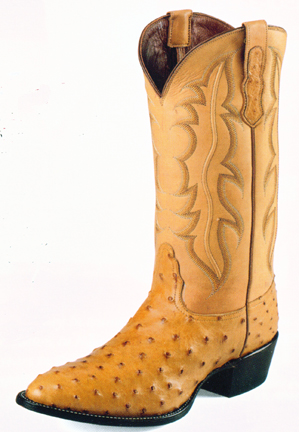 b0c872d6e47 Nocona Handcrafted Exotic Boots - Full Quill Ostrich from Cultured ...