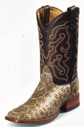 great look custom rock-bottom price Nocona Handcrafted Exotic Boots - Snake Rancher from ...