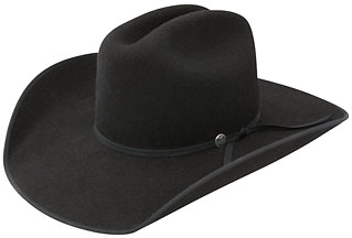61c6d6fdaf7 RES- 68 HORSESHOE B - Black RWHRSEB-6842. 4X Premium Wool Felt New Hatband  picture coming. Cattleman 4 1/4