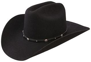 5fa10e44998 RES- 0152 DAWSON - Black 3X Premium Wool Felt Discontinued - Sold Out  Cattleman 4
