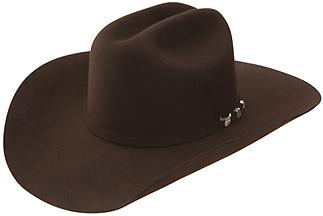 RES- 0472 USTRC - Black USTRC Hat 4X Cattleman 4 5 8