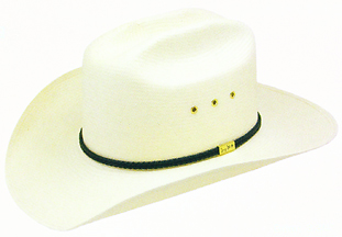 2 Cord Ribbon hatband. Bond Edge Straw. Eyelet Vented Crown. Profile 30.  Sizes  One size fits 6 3 4   Smaller CC Price  Only  23.99. Compare at    30.50 94396c55fd1