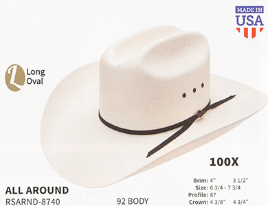 Resistol Hats - Western Straw Hats and Fashion Straw Hats 80783707642