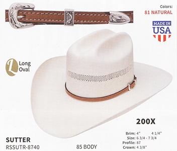 2351bcb7904c2 Resistol Hats Western Straw Hats And Fashion Straw Hats