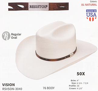 Resistol Hats - Western Straw Hats and Fashion Straw Hats 708b56d59f9