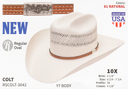 a85f5b28 Resistol Hats - Western Straw Hats and Fashion Straw Hats