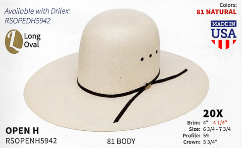 cfc333d14f552 Resistol Hats - Western Straw Hats and Fashion Straw Hats