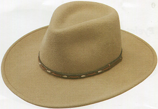 fcf2702c5eb0b Fall and Winter can especially make the easy care and warmth of these  crushable wool felt cowboy hats comfortable for both head and wallet.