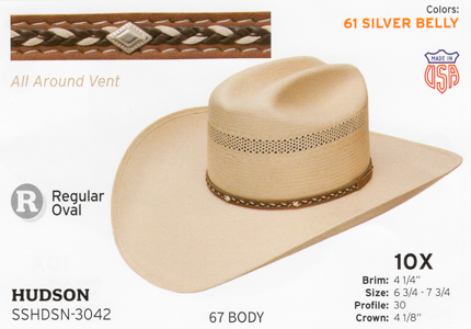 acbfc1eae Stetson Hats - Western Straw Hats and Fashion Straw Hats