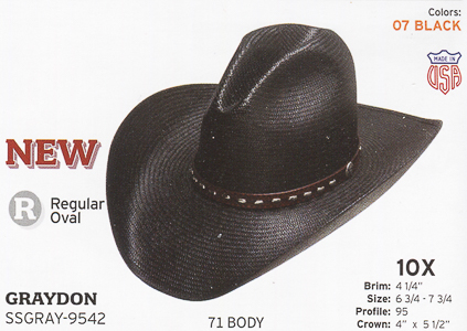 8fe49d3f50e2b Stetson Hats - Western Straw Hats and Fashion Straw Hats