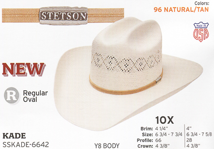 f2eb83d81 Stetson Hats - Western Straw Hats and Fashion Straw Hats