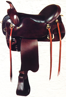 Big Horn Double Comfort Trail Saddle From Cultured Cowboy