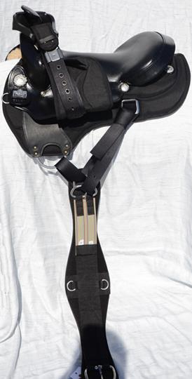 Big Horn Western Cordura Trail Saddles From Cultured Cowboy