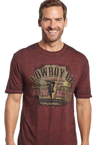 Standard Unisex T-shirt Cowboy Up Apparel