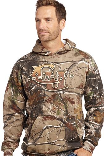 Cowboy up hoodies