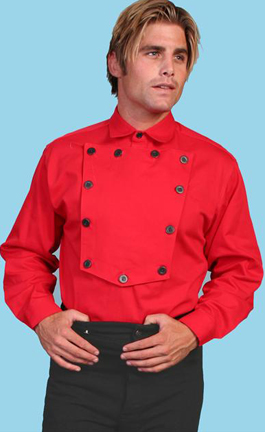 Banded Collar Shirts For Men Cotton