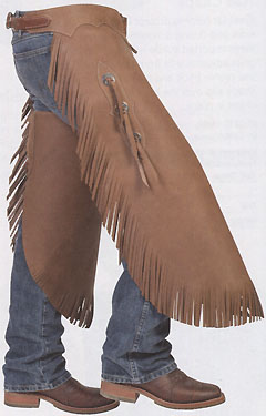 NEW RODEO CHINKS CHAPS BLACK SUEDE LEATHER LEATHER TOOLED YOKES /& TRIM