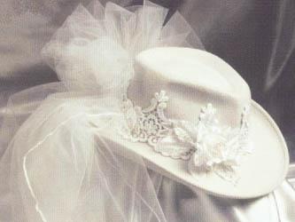 Western Bridal Hats